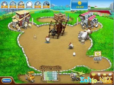Веселая Ферма 2 - Скачать игру бесплатно - Мини Игры 13 сен 2008.