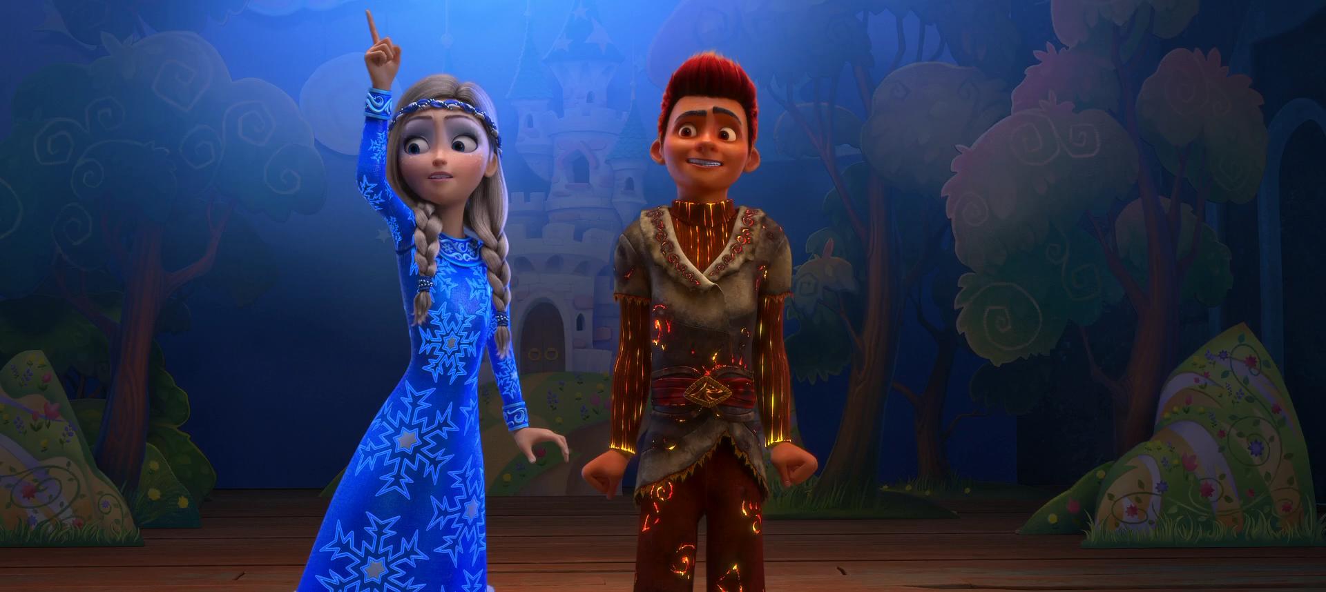 артикуляция губно-зубных песни из мультфильма снежная королева 3 помогает