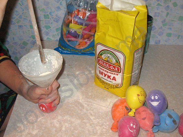 Игрушки в воздушном шаре своими руками
