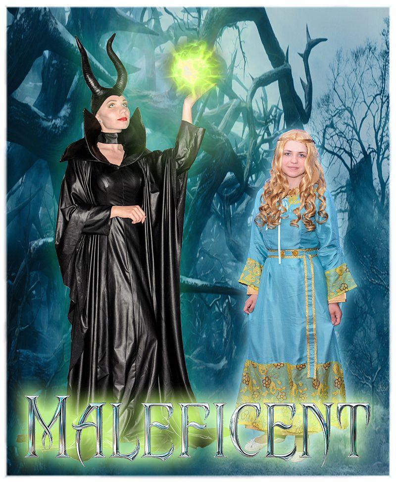 Малефисента и принцесса Аврора