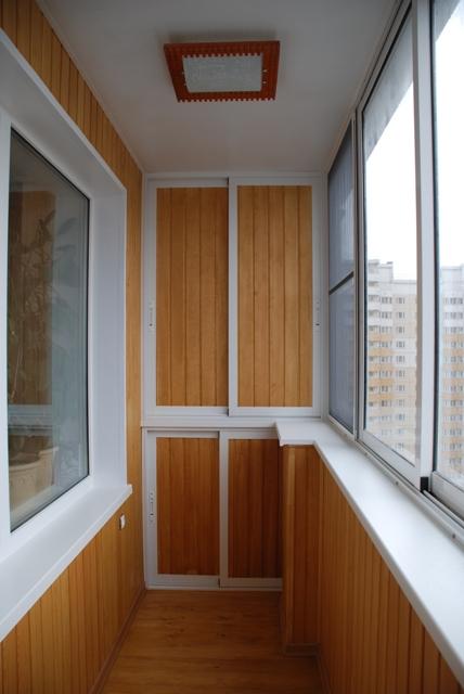 Отделка балконов и лоджий - воронеж-окно.